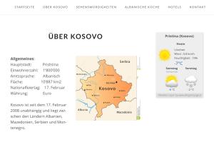 über kosovo